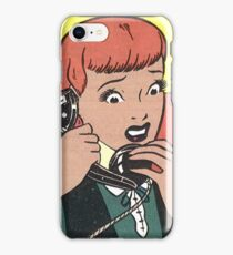 Oh No ! Not Another Telemarketer ! iPhone Case/Skin