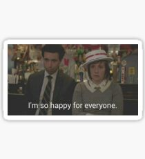 HBO Girls - I'm so happy for everyone Sticker