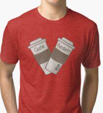 coffee heart Tri-blend T-Shirt