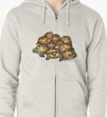 Greek Tortoise Group Zipped Hoodie