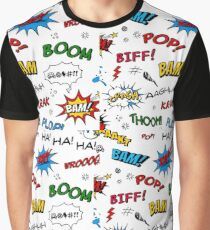 Riot In Comic Book Graphic T-Shirt