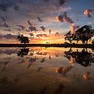 Mirror Sunrise by David Haworth