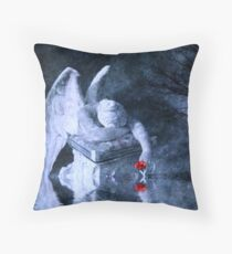 Drowning In Tears Throw Pillow
