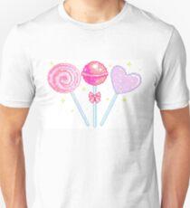 Pink Sparkly Lollipops T-Shirt