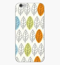 Leaf Repeat Pattern iPhone Case