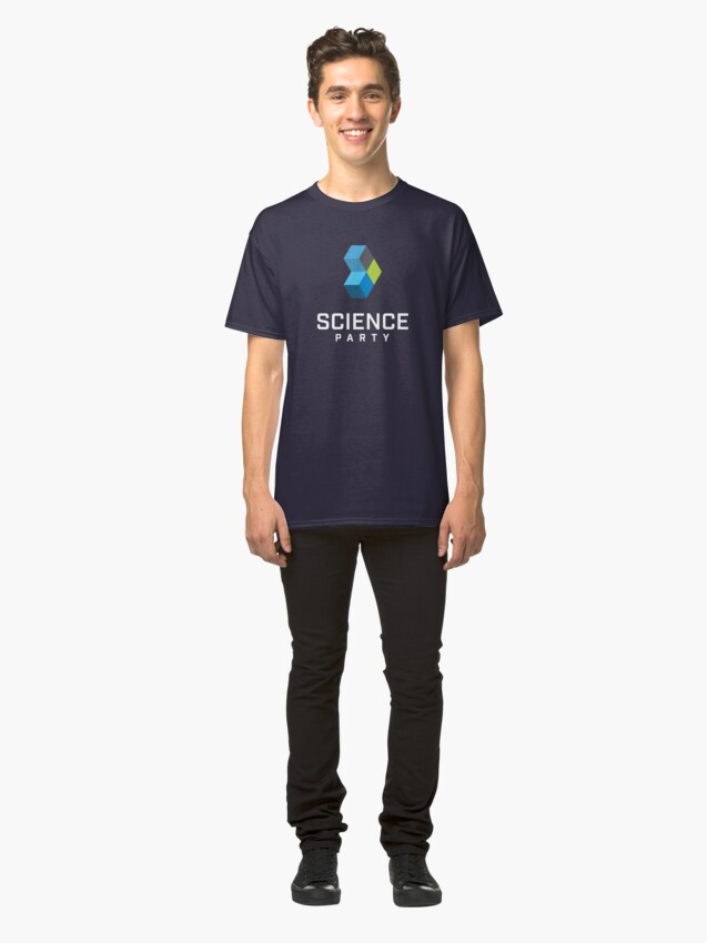Alternate view of Science Party Australia (Dark) Classic T-Shirt