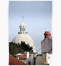 Traditional skyline – Lisbon, Portugal Poster