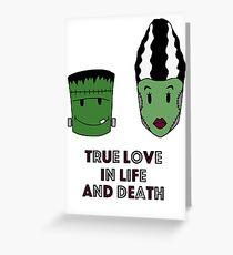 Halloween - True love Greeting Card