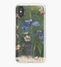 Wild Roses and Irises, John La Farge (American, New York  iPhone Case/Skin