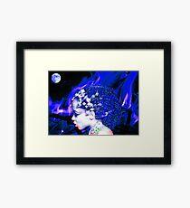 Blue Goddess Framed Print