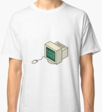 Game Over CRT Classic T-Shirt