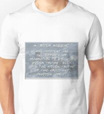 How Impotent Are The Efforts - Haggard Unisex T-Shirt