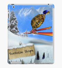 Skiing Tortoise Slope iPad Case/Skin