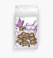 Tortoise Butterflies - Social Butterfly Duvet Cover