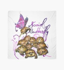 Tortoise Butterflies - Social Butterfly Scarf