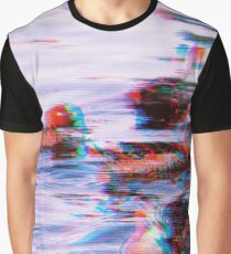 Oscar See Through Red Eye Graphic T-Shirt