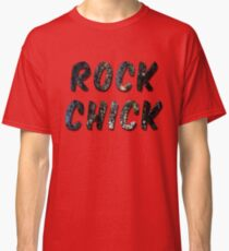 Rock Chick Grungy Classic T-Shirt