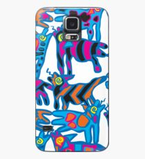 Colorful Abstract Coyote Art Duvet Cover Case/Skin for Samsung Galaxy