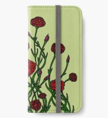 Carnation Tarnation iPhone Wallet/Case/Skin