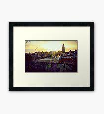 Cork City Framed Print