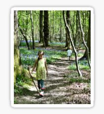 In the bluebell woods Sticker