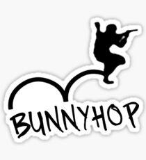 "CS:GO Bhop Print ""BUNNYHOP"" Sticker"