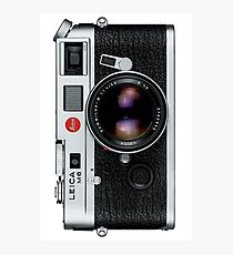 Leica M6 Photographic Print