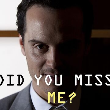 Jim Moriarty  by -chihuahua