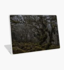 Ghostly forest Laptop Skin