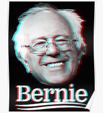 Bernie Sanders 3d Poster