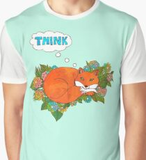 Think Outside the Fox Graphic T-Shirt