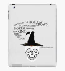 The Hollow Crown iPad Case/Skin
