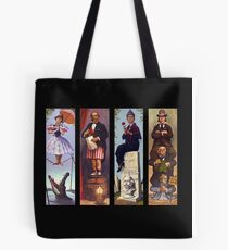 Haunted mansion all Characthers Tote Bag