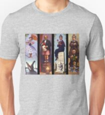 Haunted mansion all Characthers T-Shirt
