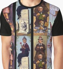 Haunted mansion all Characthers Graphic T-Shirt