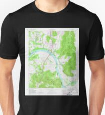 USGS TOPO Map Alabama AL Farley 303820 1964 24000 T-Shirt