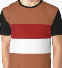 Planet of Geonosis Flag Graphic T-Shirt