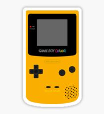 Game Boy Yellow Sticker