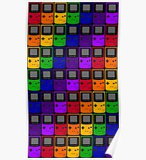 Gameboy Colors Poster