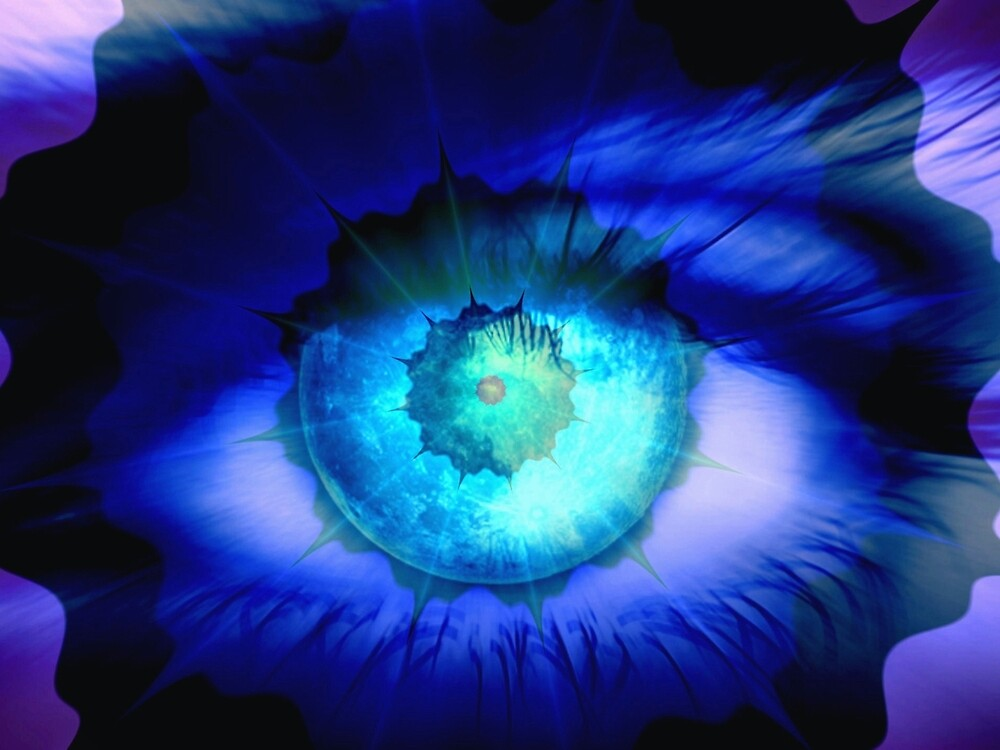Eye of a Guardian Angel by Brian Exton