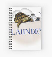 Tortoise Laundry Bag Spiral Notebook