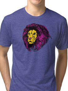 Lion Modern Pop Colors Tri-blend T-Shirt