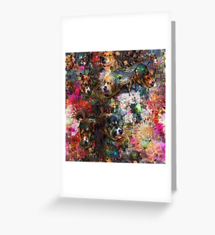 Dogs & Dreams Greeting Card