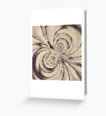 Particle Storm Greeting Card