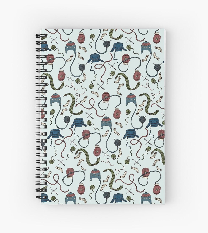 Cuadernos de espiral «Cálido y acogedor» de SVaeth | Redbubble