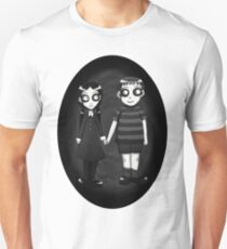 Dark little Wednesday and Pugsley Addams Unisex T-Shirt