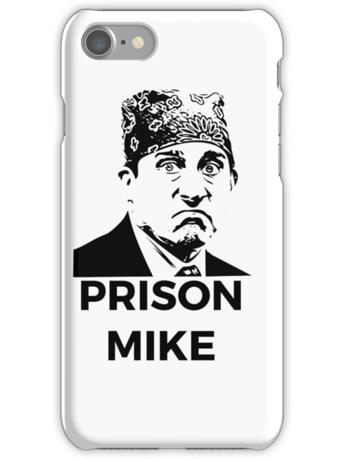 Quot Prison Mike The Office U S Quot Iphone Cases Amp Skins By