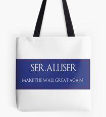 "Ser. Alliser Thorne ""Make The Wall Great Again"" Tote Bag"