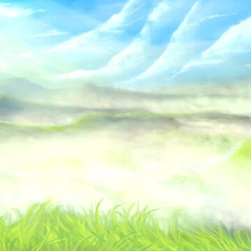 Misty Valley Speed Painting by whiteicepanther