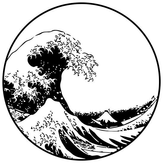 """The Great Wave off Kanagawa"" Poster by kontorasuto ..."